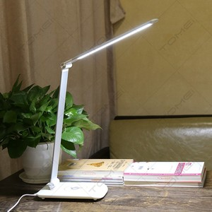 Modern Office Adjustable Led Table Reading Light Wireless Charging Lamps with USB