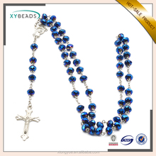High Quality Wholesale Prayer Bead Crystal Catholic Rosary Necklaces