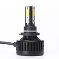 CE Rohs IP67 high low beam 9-36V 36W automotive lamp car h4 led headlight bulbs with fans