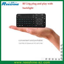 Mini RT504 wireless keyboard backlight TouchPad Wireless Fly Mouse RT504 backlight keyboard universal remote control