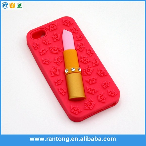 New arrival custom design silicon case for iphone5 for promotion