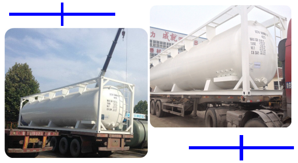 Shipping widely use diesel iso fuel tank containers