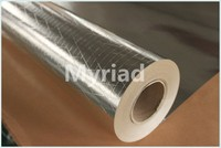 Phenolic pipe packing insulation material aluminum foil scrim with kraft backing