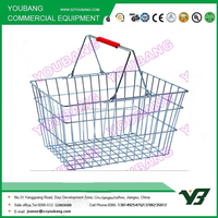 Youbang Metal Carry Shopping Basket