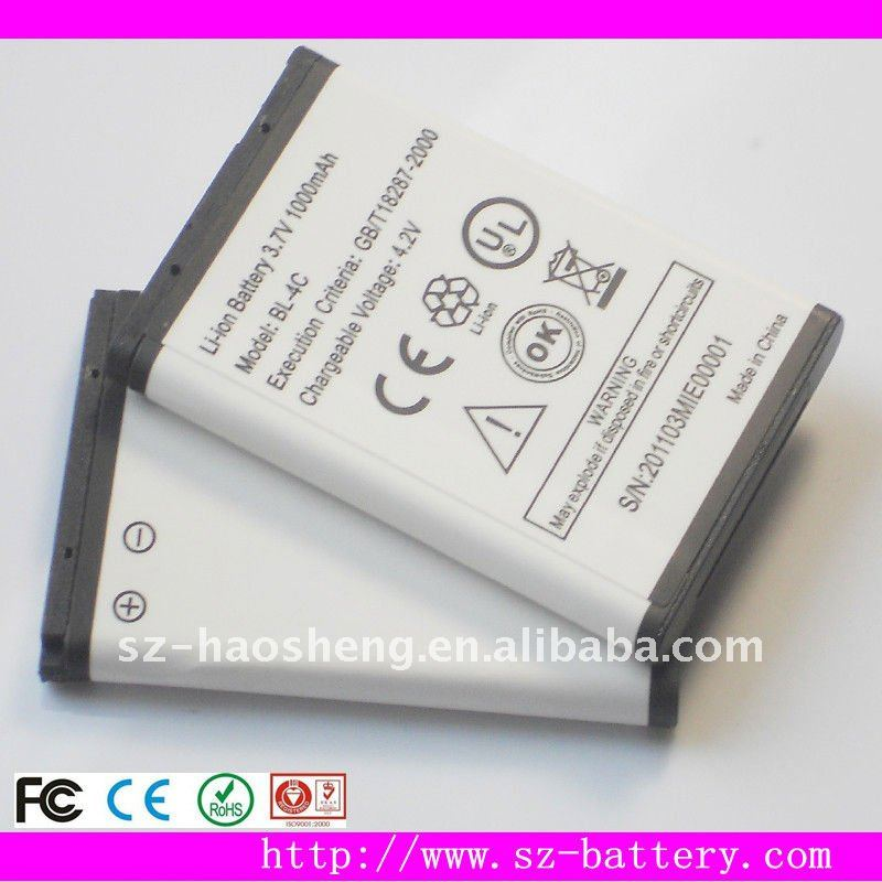 BL-4C China Mobile Phone Battery