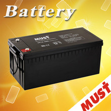AGM lead acid battery 200ah 12v power supply battery backup