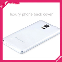OEM Transparent Soft Phone Case Back Cover Bumper for Samsung Galaxy Note 4