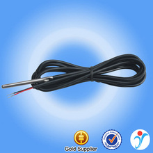 Custom made silicon cable 1m waterproof temperature 1k ohm thermistor probe