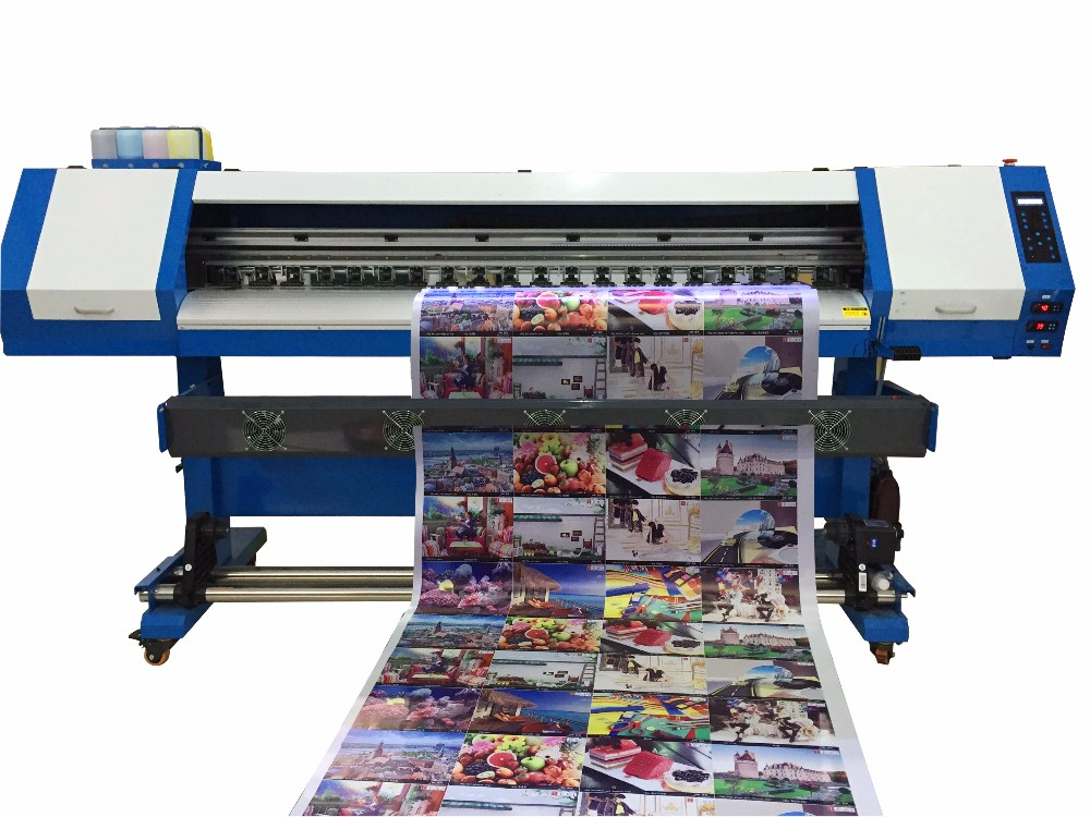 Low Cost For Eco Solvent Printer Vinyl Printing Machine