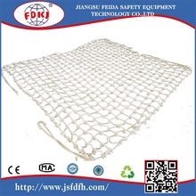 Polypropylene/polyester Rope Cargo Net Sling/Knotted rope Lifting Net