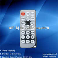 Shenzhen factory supply mini traffic light remote control with 21keys and OEM servies
