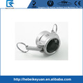 "Camlock Type DC quick disconnect 1/2"" stainless steel fitting"