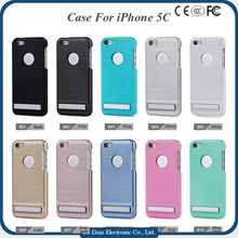 Cool Kickstand Hard PC Cell Phone Case Cover for iPhone 5C