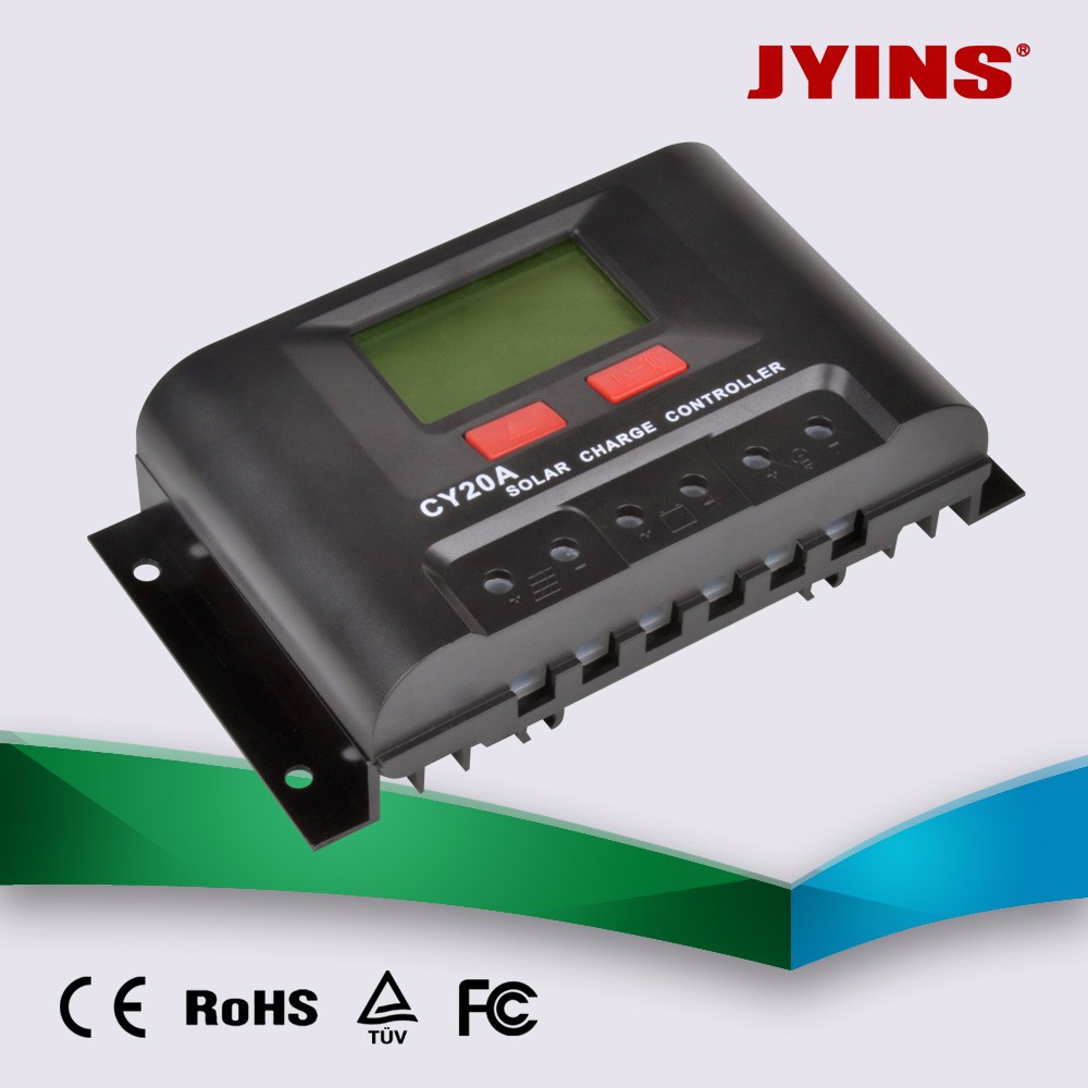 LCD display 30A PWM charge controller /solar regulator