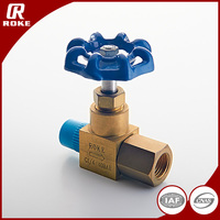 Male Thread Water Valve Brass Needle Valve Flow Control