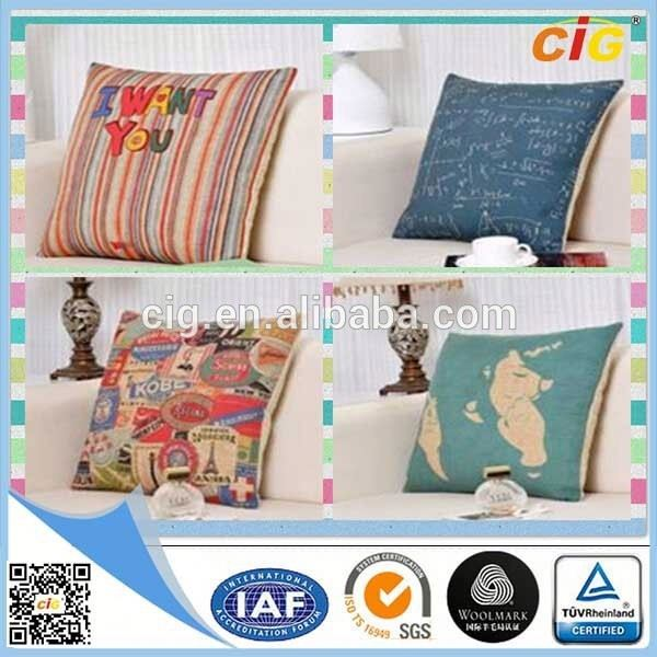 CE Approved Luxury outdoor waterproof fabric chair cushion