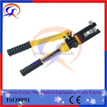 plastic carring case portable transmission line string crimping tool with crimping moulds 10-120 mm2