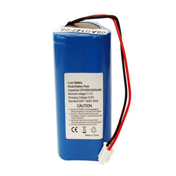 11.1V 2600mAh Lithium battery lithium ion battery with pcm protection
