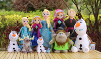DIHAO Christmas Gift Frozen Anna Elsa olaf Toys Princess dolls 20 Inch Princess Dolls Action Figure Toys Classic Play for kids
