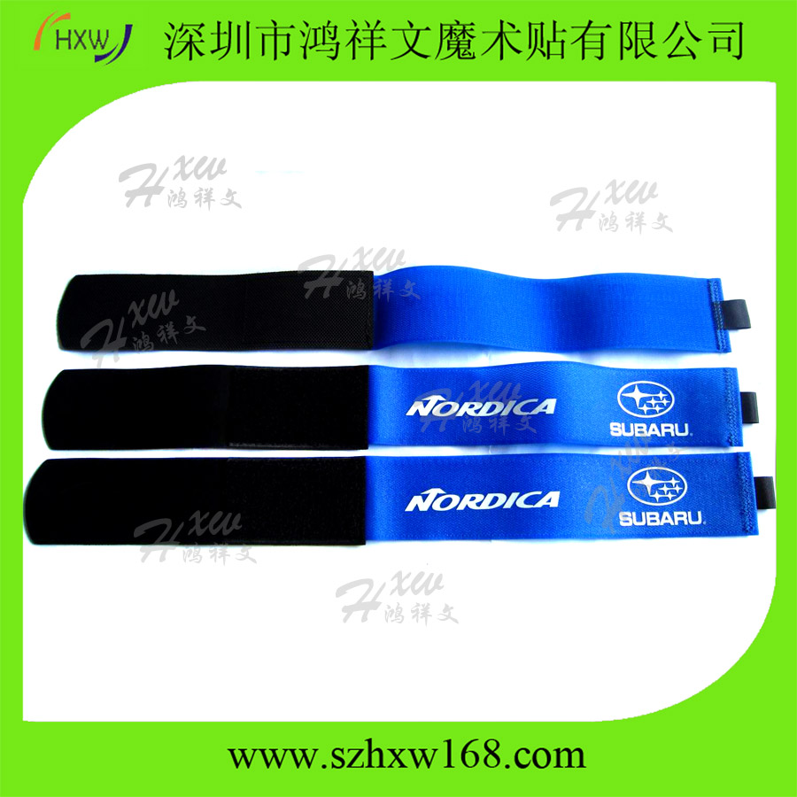 wholesale adjustable head alpine rubber custom ski straps