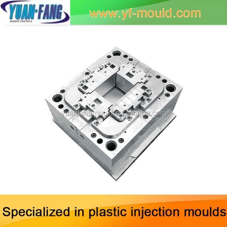 Taizhou huangyan manufacture auto/car battery box plastic injection mould/mold/die of car part/body