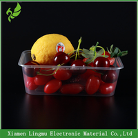 Wholesale high temperature resistant food container kids plastic pp tray