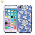 UV print relief TPU PC case for Apple iphone 8