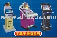 Cabinet for coin operated game or internet kiosk