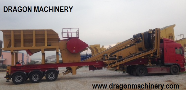 Mobile Tertiary Crushing Plant Dragon 45