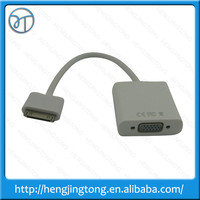 For iPad Dock Connector to VGA Adapter