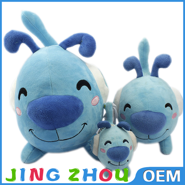 OEM Beautiful Plush Mascot, Custom Plush Company Mascot Toy