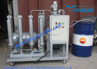 China Yuneng Waste engine oil to diesel fuel refinery plant