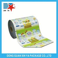sealable bopp film roll for making center sealed pouch