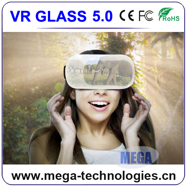 Wholesale 3d vr glasses for mobile phone vr 3d glasses for sexy movie