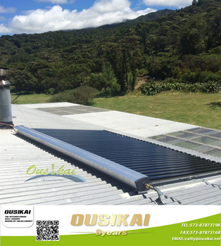 High Efficiency Heat Pipe Solar Thermal Collector for Slope roof