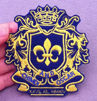 iron on custom embroidery patches with high quality