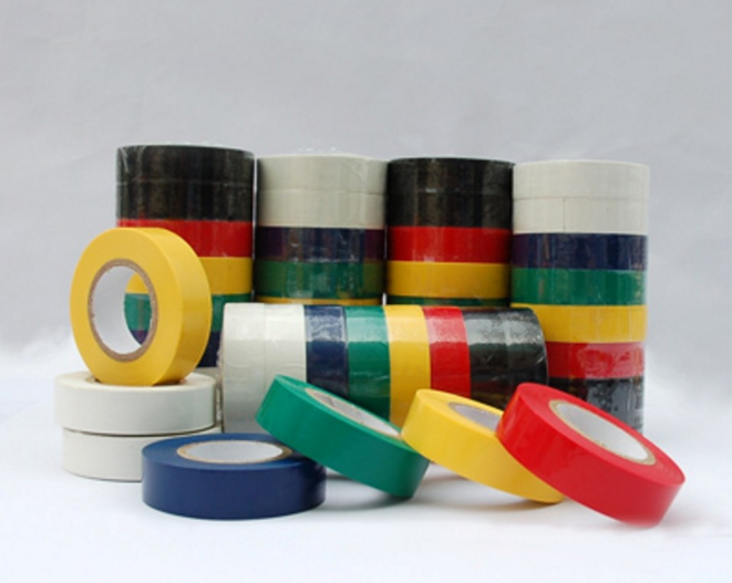 China factory wholesale high quality black electrical pvc insulation tape