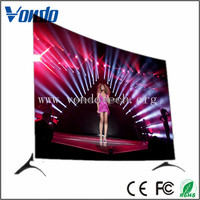 Promotion televisions 55 inch surface 4k panel smart TV 32GB led tv