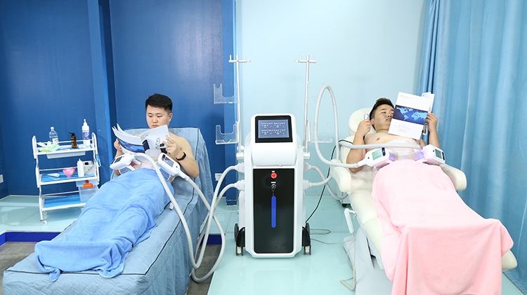 Nubway 4 handles available non-surgery cryolipolysis fat freeze slimming weight loss machine