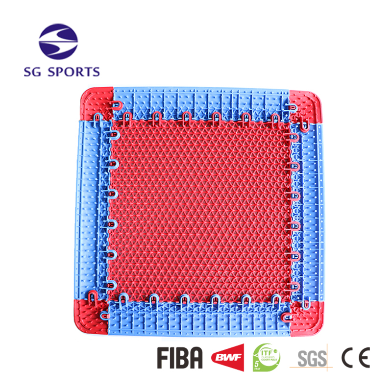 Modular Original PP Durable Eco-friendly Removable Interlocking Floor for Basketball Court