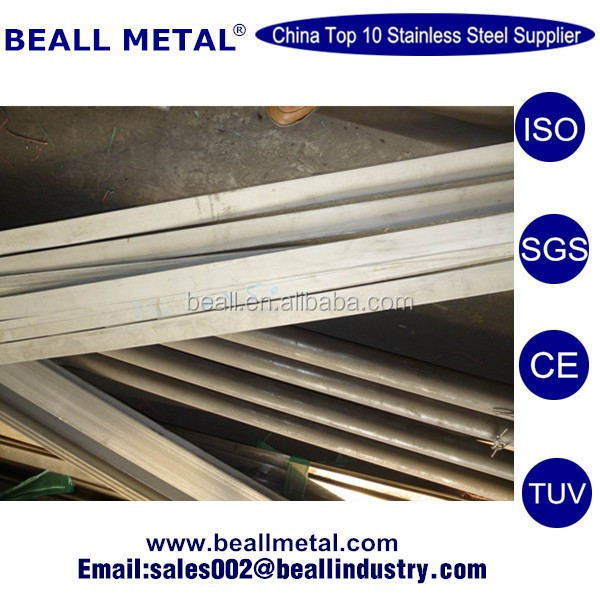top sell stainless steel flat bar stair handrail and rod railing