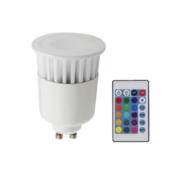 MR16/GU10/E27/5pins LED controller Dmx RGB Led ceramic spotlight 5w 12v with Controller