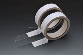Double sided adhesive hotmelt glue easy tear tissue tape