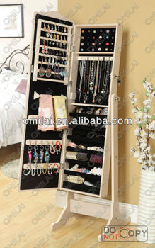 Wooden fruniture jewelry armoire