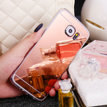 Mirror Soft TPU Cover For Samsung Galaxy S3 S4 S5 S6 S7 S8 Edge Plus Grand A3 A5 A7 2017 J1 J3 J5 J7 Prime 2016 Note 3 4 5 Case