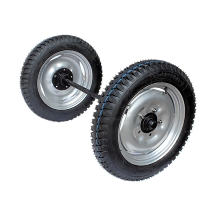 Trailer inflatable wheel 5.00-16 cart wheel 4.00-12
