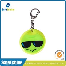 2016 Brand new design reflective cute pendant keychain