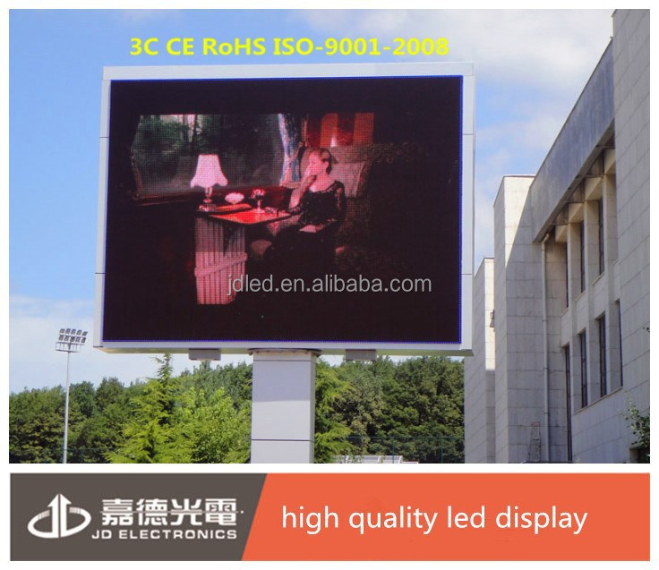 Energy saving full color HD LED video display screen blue picture video