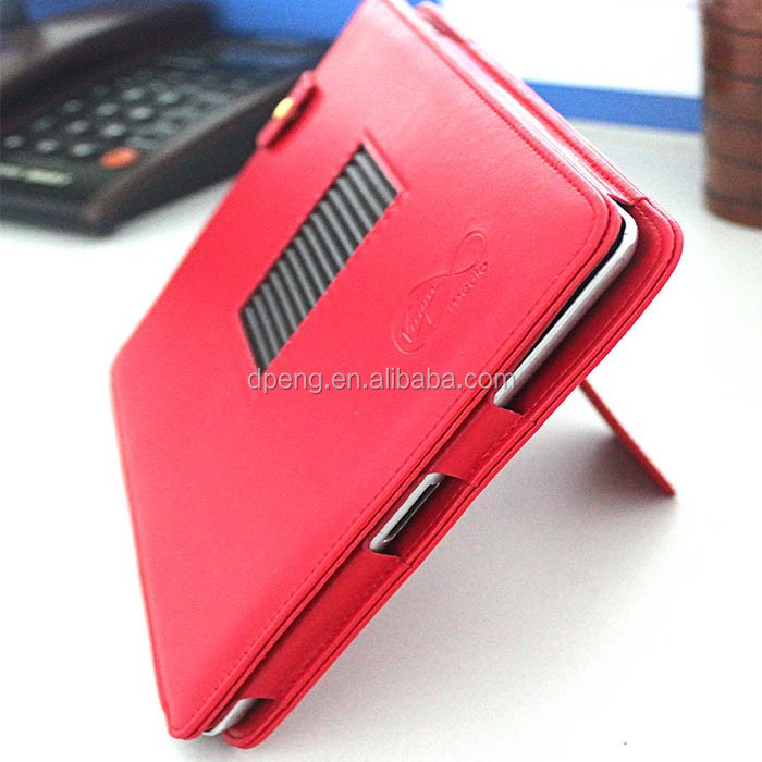 New arrival High quality waterproof stand leather case for ipad air 2