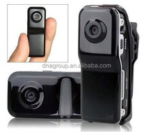 Hot Selling Mini DVR Camera & Mini DV, Black Sports Video Camera MD80